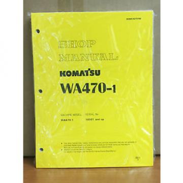 Komatsu WA470-1 Wheel Loader Shop Service Repair Manual