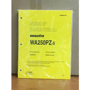 Komatsu WA250PZ-5 Wheel Loader Shop Service Repair Manual