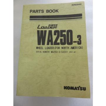Komatsu - WA250-3 - Wheel Loader Parts Book Manual PEPB028400