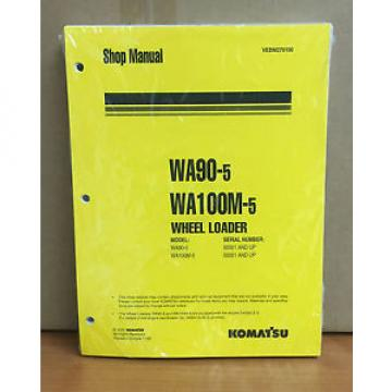 Komatsu WA90-5, WA100M-5 Wheel Loader Shop Service Repair Manual