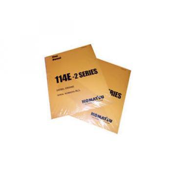 Komatsu PC750-6/LC/SE-6, PC800-6 Service Shop Printed Manual