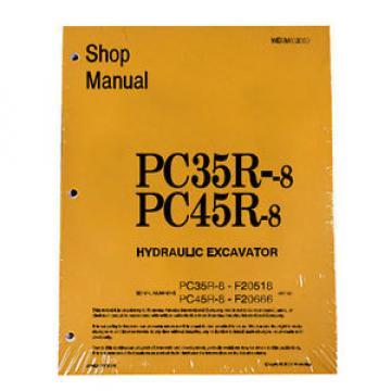 Komatsu Service PC35R-8, PC45R-8 Shop Manual #2
