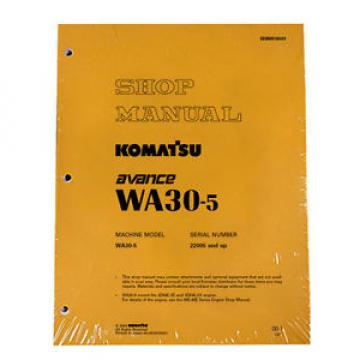 Komatsu WA30-5 Wheel Loader Service Repair Manual