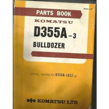 KOMATSU D355A-3 BULLDOZER PARTS CATALOG  GOOD