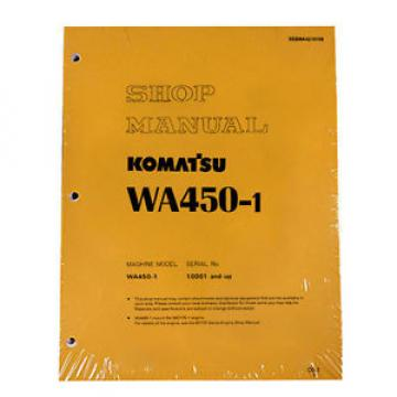 Komatsu WA450-1, WA450-1L Loader Service Repair Manual