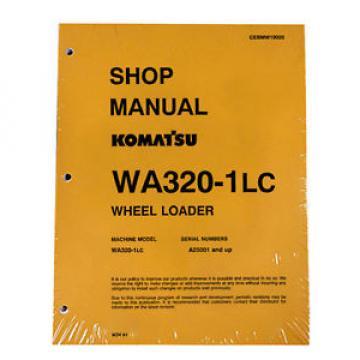 Komatsu WA-320-1LC Wheel Loader Service Shop Manual