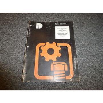 Komatsu Dresser TD8E Crawler Tractor Dozer Parts Catalog Manual Manual Book