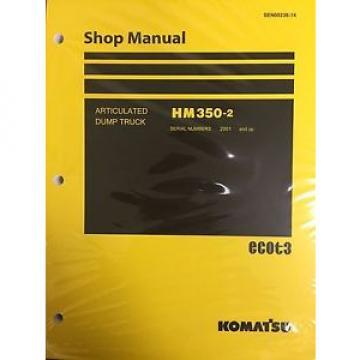 Komatsu HM350-2 Shop Service Manual Articulated Dump Truck