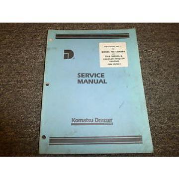 Komatsu Dresser TD9 Series B Crawler Tractor Chassis Shop Service Repair Manual