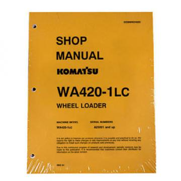 Komatsu WA420-1LC Wheel Loader Service Repair Manual