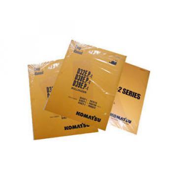 Komatsu Service PC300HD-7, PC300LC-7 Excavator Manual