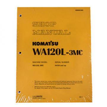 Komatsu WA120-3MC Wheel Loader Service Repair Manual #2