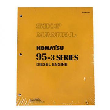 Komatsu Service Diesel Engines 95-3 Series Shop Manual