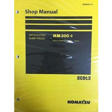 Komatsu HM300-2 Shop Service Manual Articulated Dump Truck