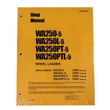 Komatsu WA250-5/L-5, WA250PT-5/PTL-5 Service Manual