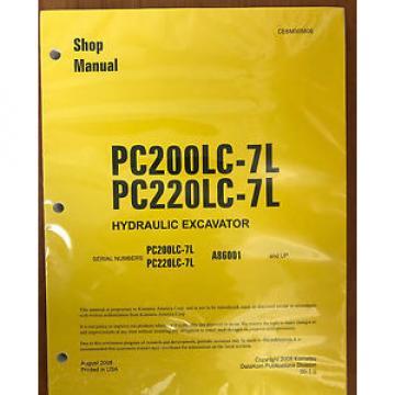 Komatsu Service PC160LC-7E0 PC180LC-7E0 PC180NLC-7E0 Shop Repair Manual NEW