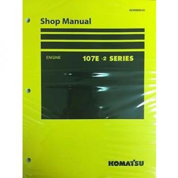 Komatsu 107E-2 Series Engine Factory Shop Service Repair Manual