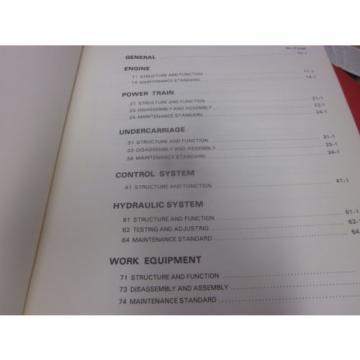 Komatsu PC1500-1 Hydraulic Excavator Repair Shop Manual