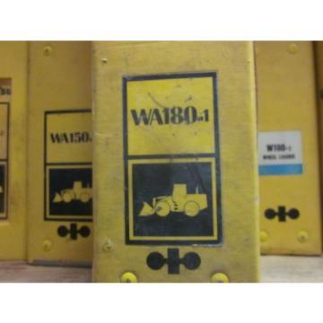 Komatsu WA180-1 Wheel Loader Service Repair Manual
