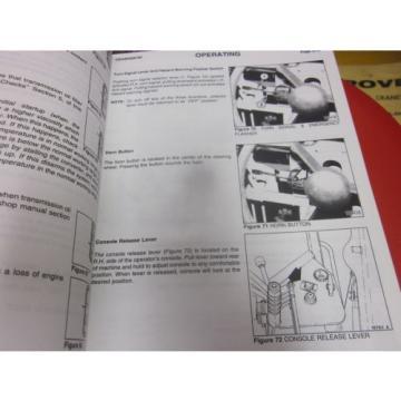 Komatsu Galion 830B 850B 870B Motor Graders Operation & Maintenance Manual