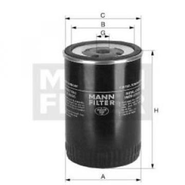 Original MANN-FILTER Kraftstofffilter WK 723 (10) Fuel Filter