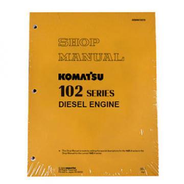 Komatsu Engines 102-E Series Service Shop Manual