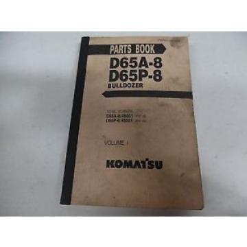 Komatsu D65A-8 and D65P-8 Bulldozer Parts Manual