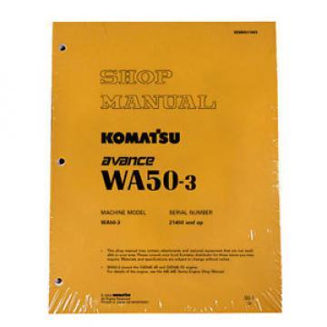 Komatsu WA50-5 Wheel Loader Service Repair Manual