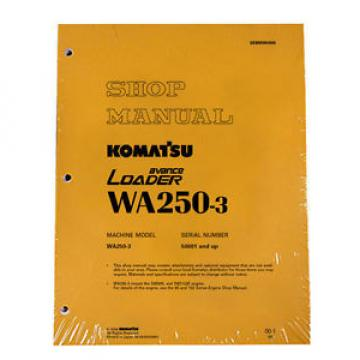 Komatsu WA250-3 Wheel Loader Service Shop Manual #1