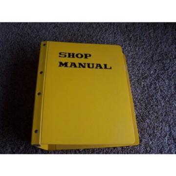 Komatsu D375A-1 15001- Bulldozer Dozer Shovel Factory Service Shop Manual