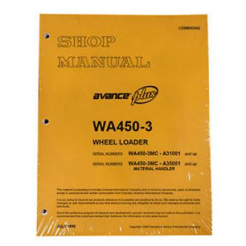 Komatsu WA450-3MC Wheel Loader Service Repair Manual