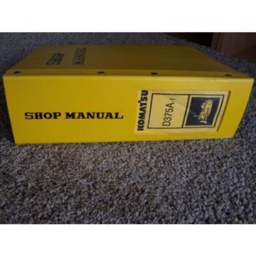 Komatsu D355A-5 12622- Bulldozer Factory Original Service Shop Manual
