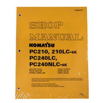 Komatsu Service PC210/210LC-6K/PC240LC/240NLC-6K-Manual