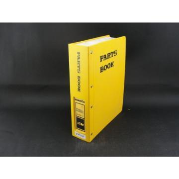 Komatsu excavator parts book manual PC300LC-6 PC300HD-6 BEPB005200