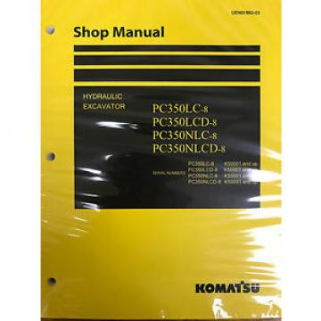 Komatsu PC300-8 PC300LC-8 PC350-8 PC350LC-8 Service Repair Printed Manual