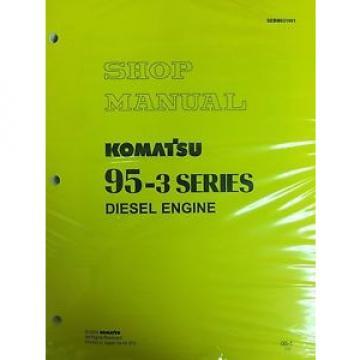 Komatsu 95-3 Series Engine Factory Shop Service Repair Manual