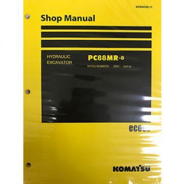 Komatsu PC88MR-8 Service Repair Printed Manual