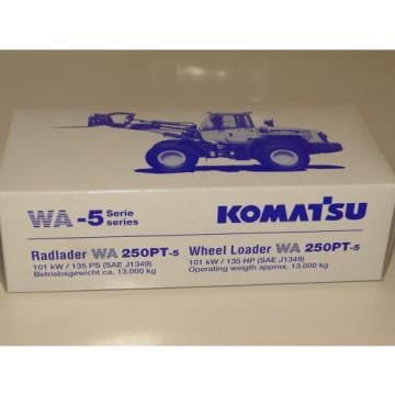 Conrad Komatsu Radlader WA 250 PT-5 Neu NEW ORIGINAL BOX 1:50