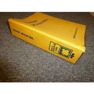 KOMATSU S6D155-4E S6D155-4J Engines Shop Service Repair Manual Guide Book