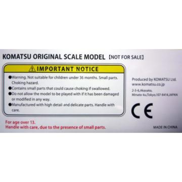 Komatsu Official Diecast Model Wheel Loader WA380-8 / 1:87 / Japan Exclusive