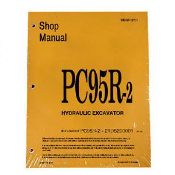 Komatsu Service PC95R-2 Excavator Shop Manual NEW #2