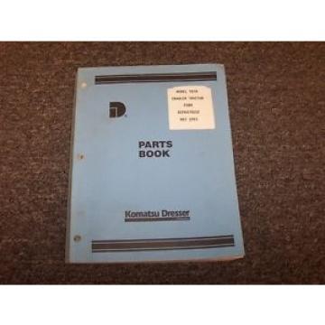 Komatsu Dresser TD7H Bulldozer Dozer Crawler Tractor Parts Catalog Manual Book