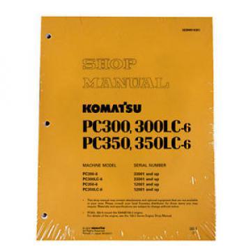 Komatsu Service PC300-6/PC300LC-6/PC350-6/LC-6 Manual