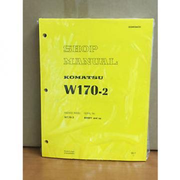 Komatsu W170-2 Wheel Loader Shop Service Repair Manual