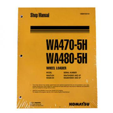 Komatsu WA470-5H, WA480-5H Service Repair Manual