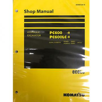 Komatsu PC1250-8 PC1250SP-8 PC1250LC-8 Shop Service Repair Printed Manual