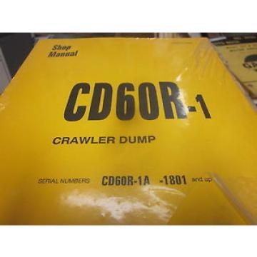 Komatsu CD60R-1 Crawler Dump Repair Shop Manual