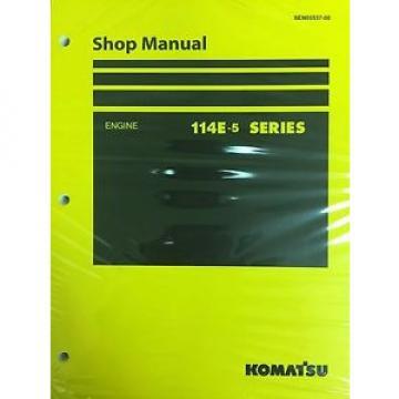 Komatsu 114E-5 Series Engine Factory Shop Service Repair Manual