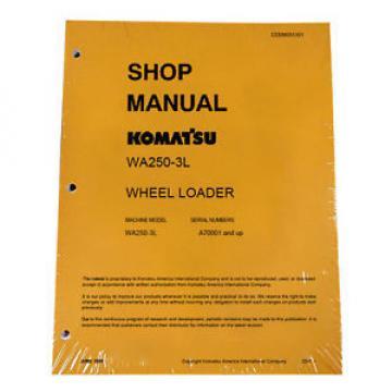 Komatsu WA250-3L Wheel Loader Service Shop Manual