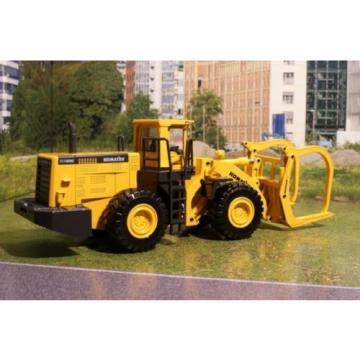 Joal 204 - Komatsu WA600-3 Four Wheel Log Loader Diecast New - Scale 1:50